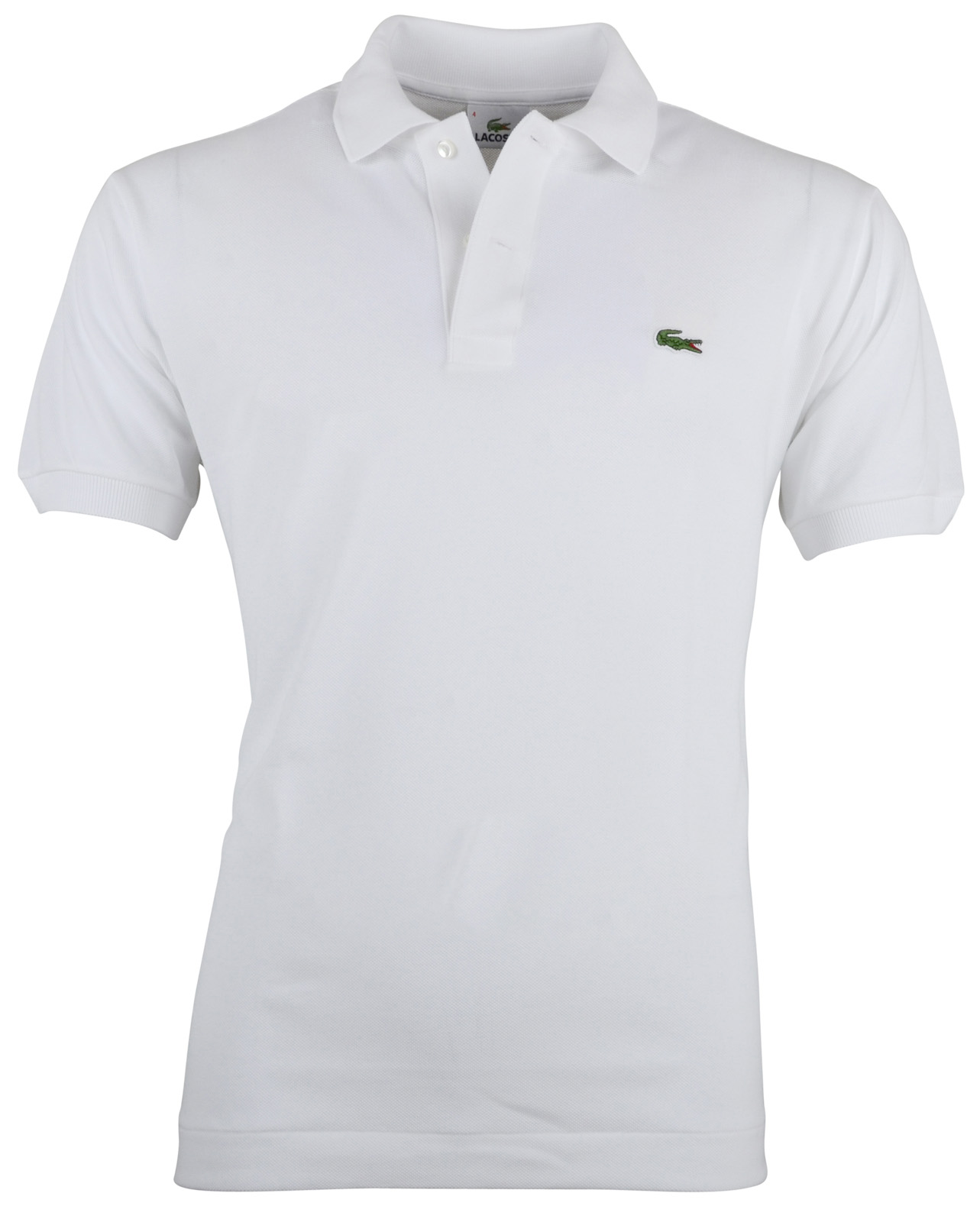 Lacoste Polo Regular Fit Wit L