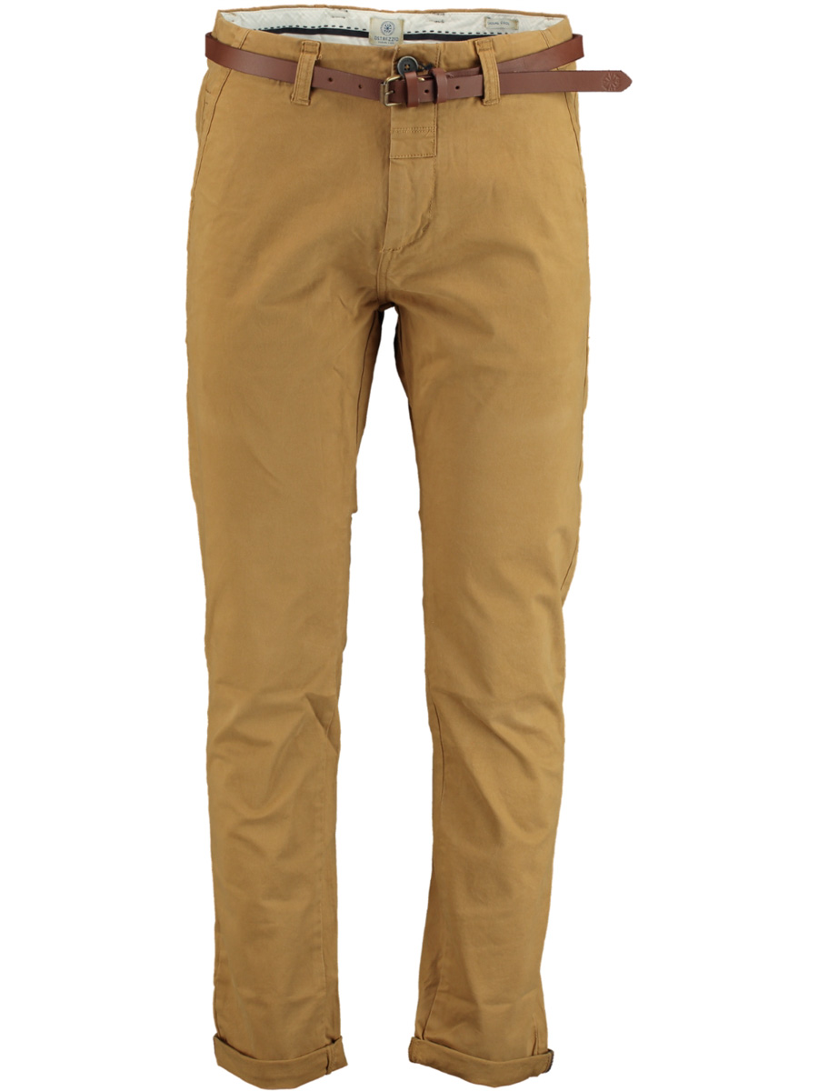 Dstrezzed chino bruin modern fit -AW