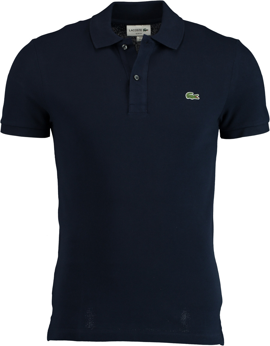 Lacoste Polo Donkerblauw Slim Fit PH