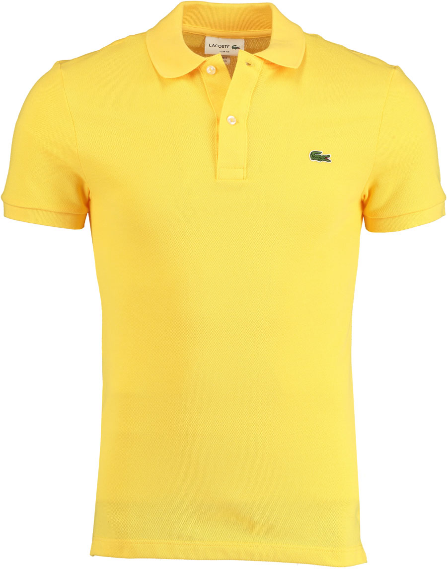 Lacoste Gele polo Slim Fit PH4012/Z0A - Maat 3