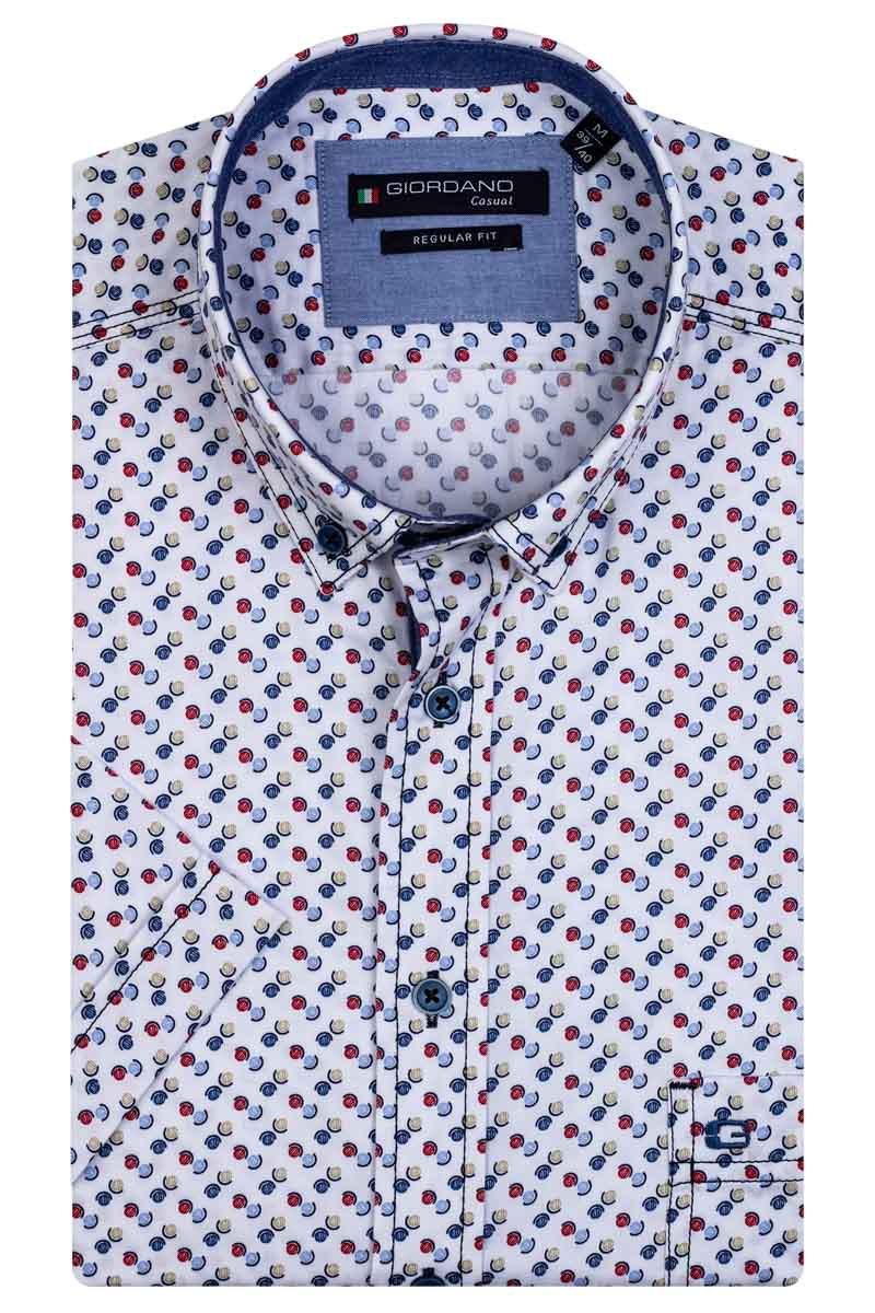 Giordano Sky SS Button Down 106018/30 - Maat M