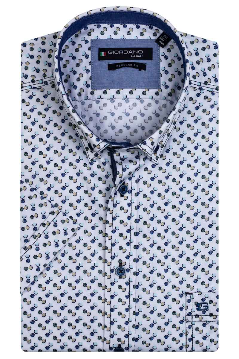 Giordano Sky SS Button Down 106018/70 - Maat M