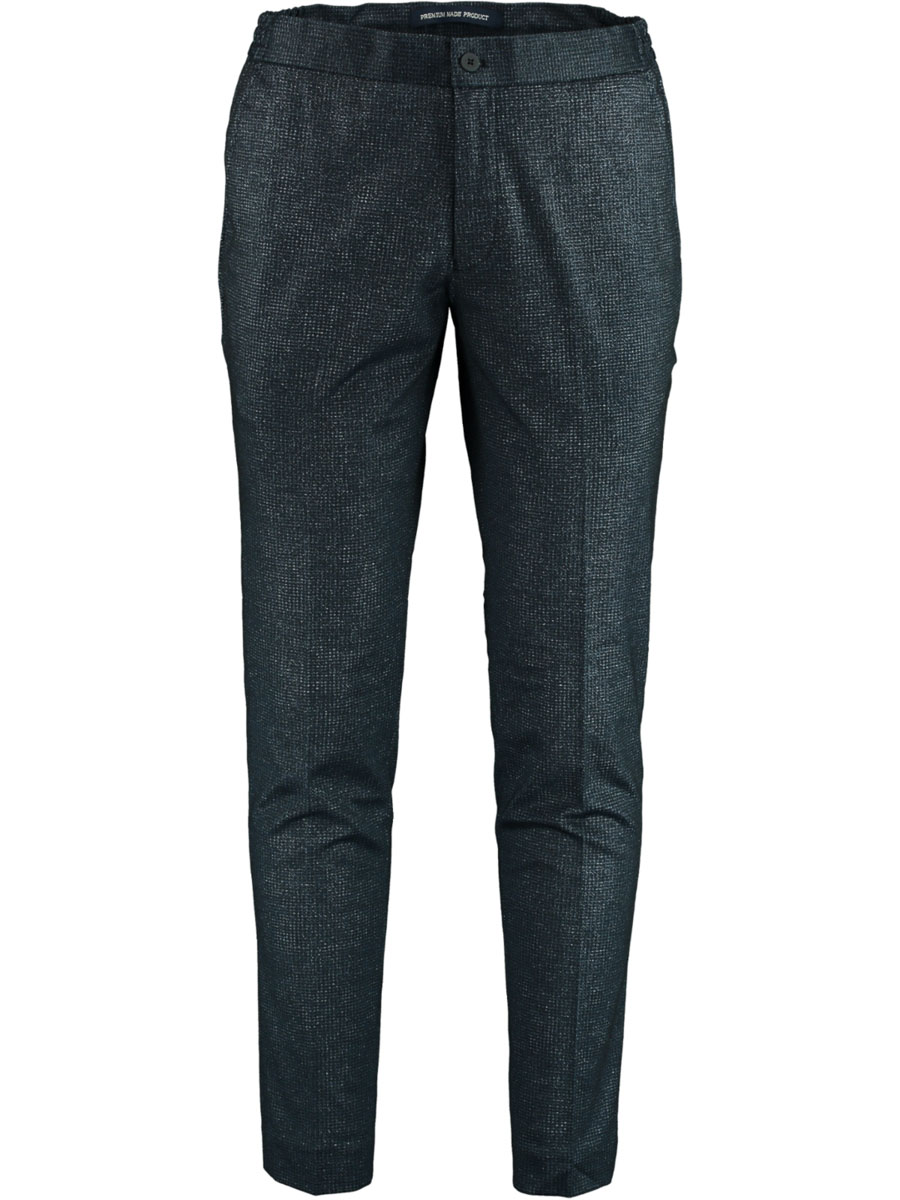 Born with Appetite Das Trouser chino Slim Fit 20304DA41/290 navy - Maat 46