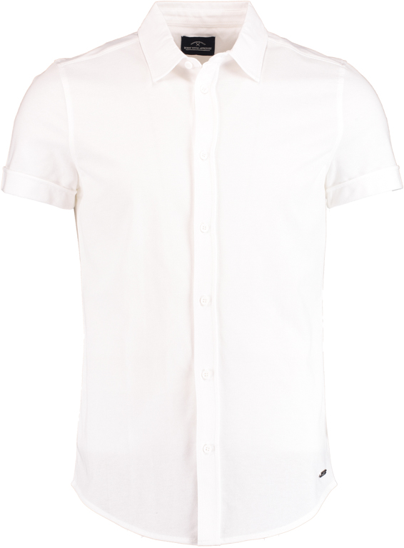 Born with Appetite Earl Shirt Sl 21108EA38/100 white - Maat L