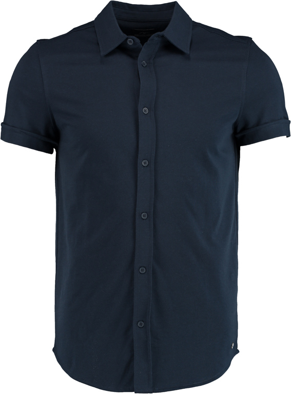Born with Appetite Earl Shirt Sl 21108EA38/290 navy - Maat L