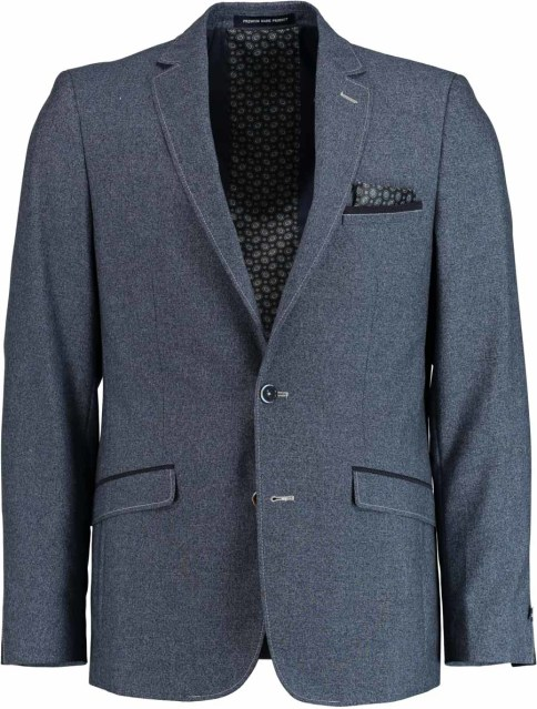Born with Appetite Gent Jacket Slim Fit 183038GE84/240 blue