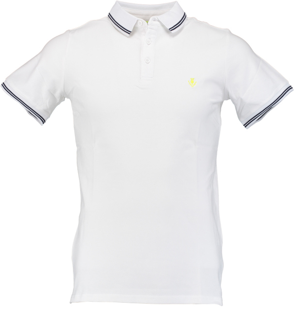 Born with Appetite Jason - Polo Fine Pique 18108JA40/100 white
