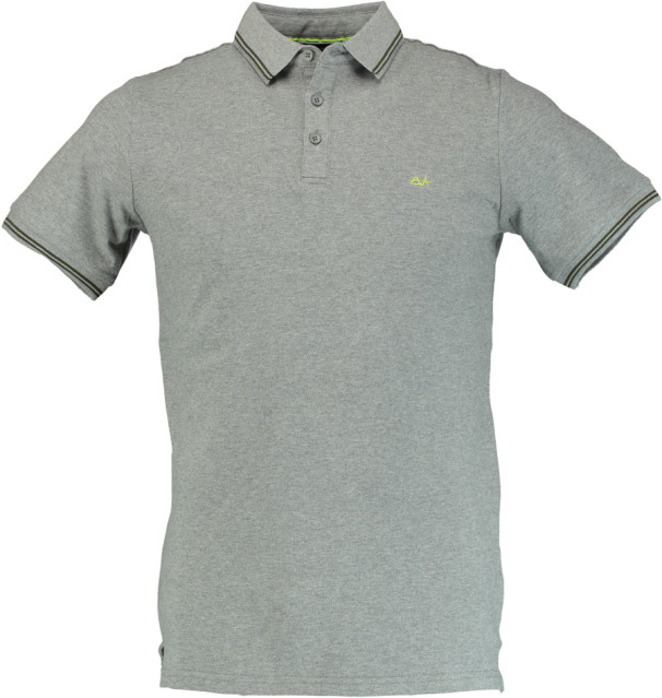 Born with Appetite Jason - Polo Fine Pique 18108JA40/941 grey melange