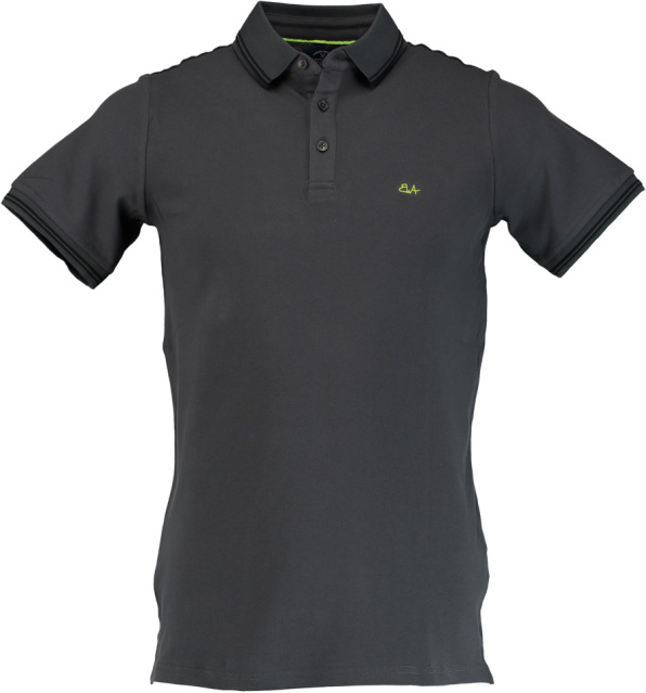 Born with Appetite Jason - Polo Fine Pique 18108JA40/968 d grey