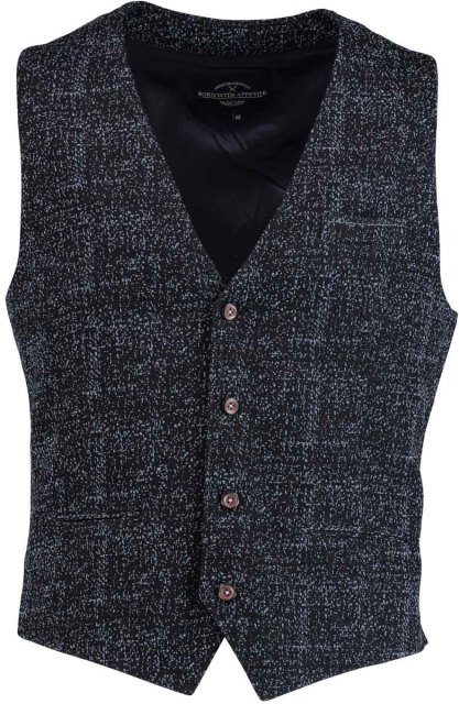Born with Appetite Kris Waistcoat 18311KR90/290 navy