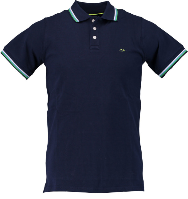 Born with Appetite polo pique donkerblauw 18108SU32/290 navy