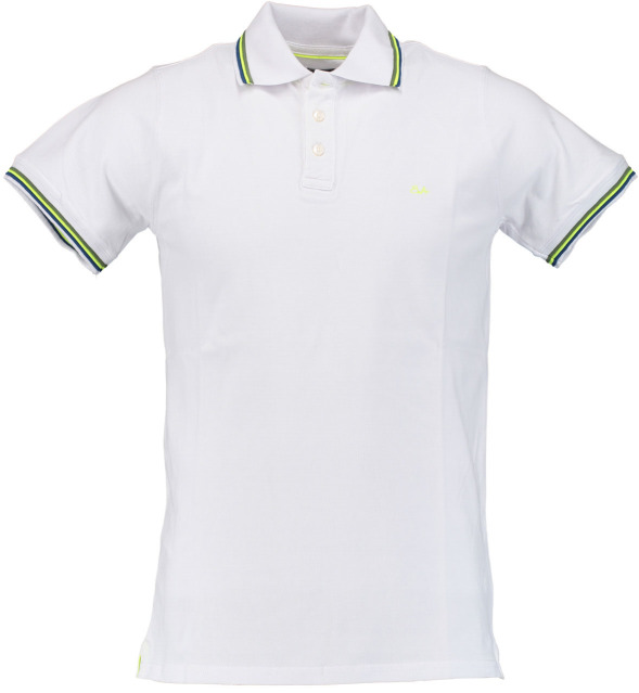 Born with Appetite Sunny - Fancy Polo Pique 18108SU32/100 white