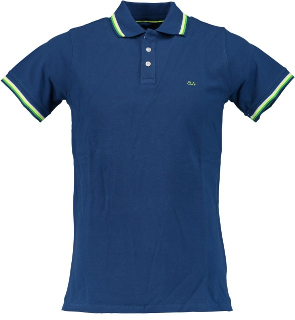 Born with Appetite Sunny - Fancy Polo Pique 18108SU32/240 blue