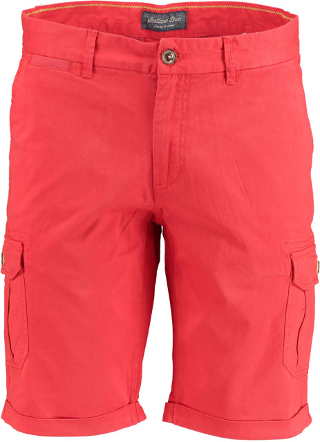 Bos Bright Blue Bermuda rood modern fit 19109BE02SB/676 red