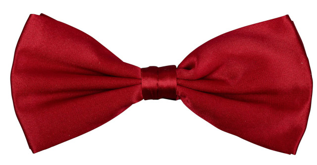 Bos Bright Blue BOWTIE SILK WOVEN RED PNNA00002F/U