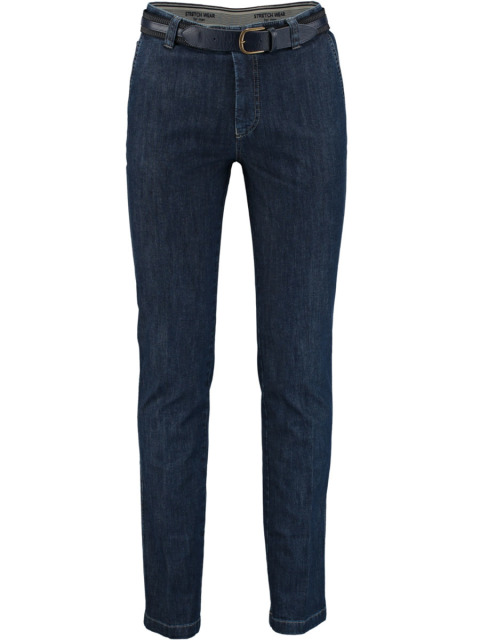 Bos Bright Blue Flatfront Jeans 2A.110/3098