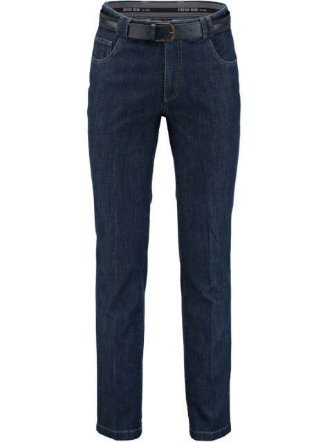 Bos Bright Blue Jeans donkerblauw met stretch 2M.110/3098