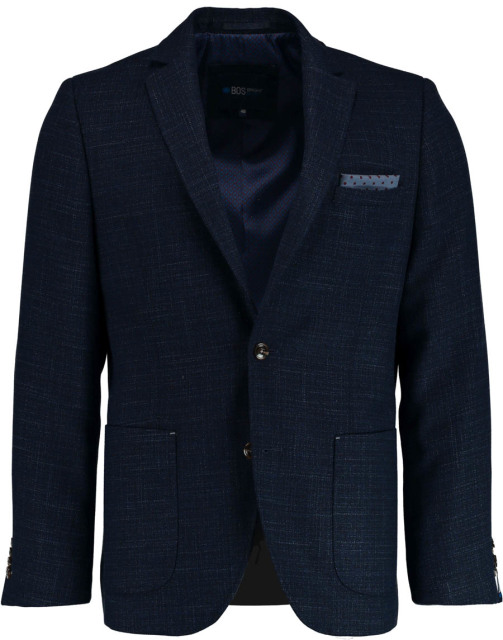 Bos Bright Blue Leek Jacket Drop 7 183037LE61BO/290 navy
