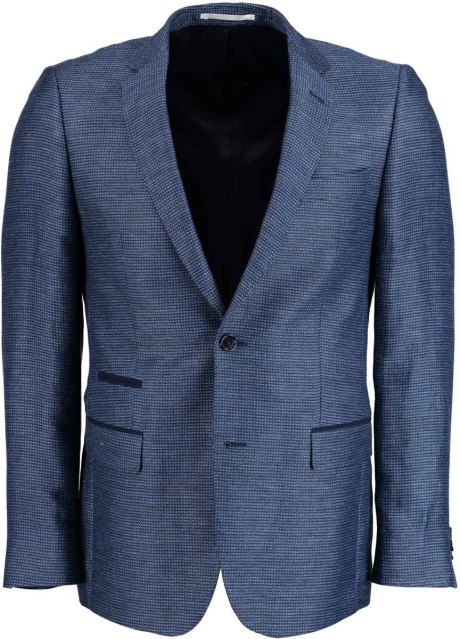 Bos Bright Blue Napoli Modern Fit Colbert 19500/12