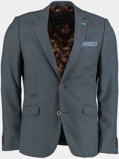 Bos Bright Blue Slim Fit Colbert SPE181038GO70BO/240
