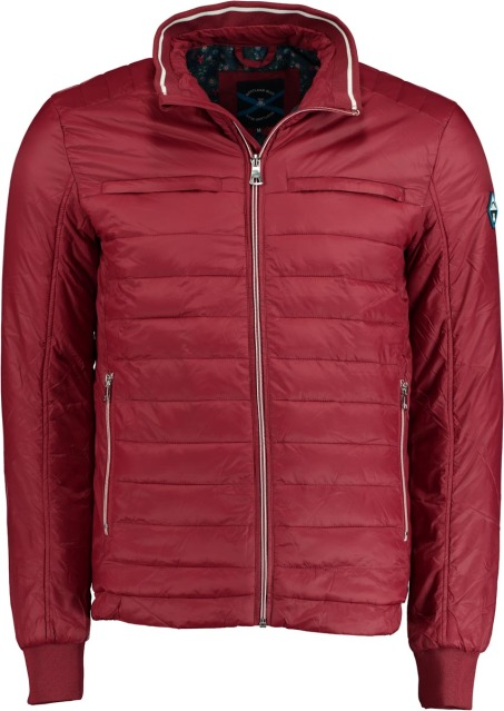Bos Bright Blue Tussenjack bordeauxrood 20101RE08SB/670 d.red