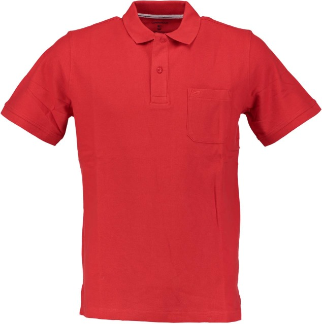 Commander NOS 2-Knopf Polo Shirt uni 214006289/459
