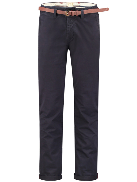 Dstrezzed chino donkerblauw modern fit 501146-NOS/649