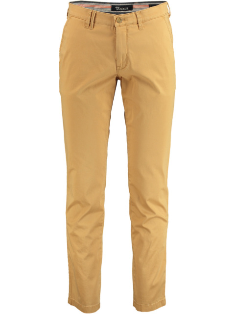 Gardeur Chino slim fit geel 411411/18