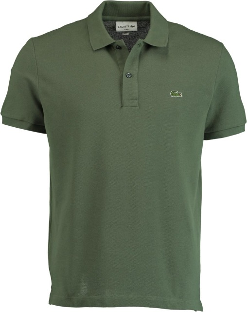 Lacoste Polo Army groene Slim FIt PH4012/XZD