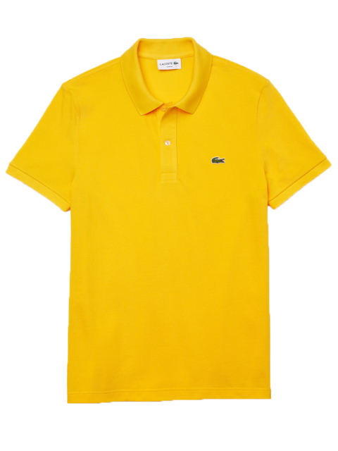 Lacoste polo geel slim fit PH4012/US3