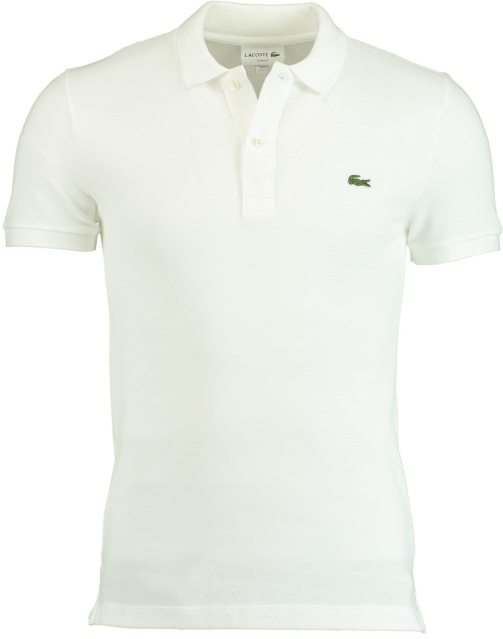 Lacoste Polo Wit Slim Fit PH4012/001
