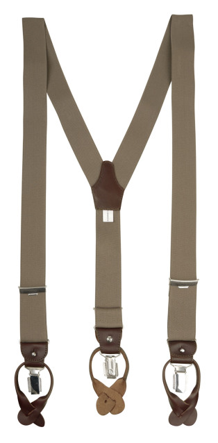 Profuomo BRACES LUXE 36MM SOLID CAMEL PP1L00001D/G