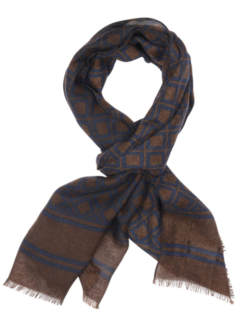 Profuomo SCARF BROWN SOLID PPOS30012C/H