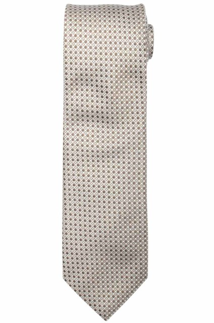 Profuomo TIE SILK TUSSAH WOVEN CAMEL PPPA1A022F/G