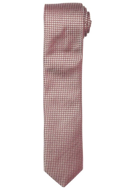 Profuomo TIE SILK TUSSAH WOVEN RED PPPA1B118D/U