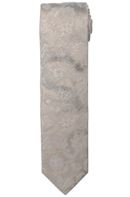 Profuomo TIE SILK WOVEN TAUPE PPPA1A043D/H