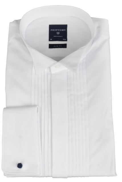 Profuomo WING COLLAR SF DC WHITE PP0H0A029/2
