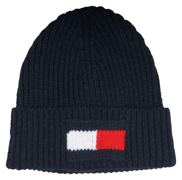 Tommy Hilfiger Big Flag Beanie AM0AM05152/CJM