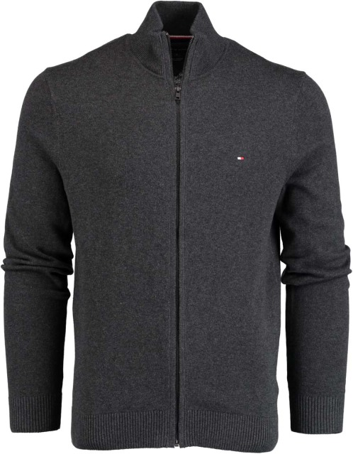 Tommy Hilfiger Pima Cotton Cashmere Zip Throu MW0MW07860/093