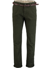 Dstrezzed Chino pants belt Stretch Twil 501146-BL8/13
