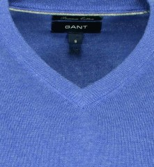 Gant Lt. Weight Cotton V-Neck 83072/495