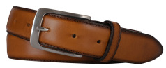 Profuomo BELT LTHR SIDE POLISH COGNAC PP1R00079/1