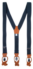 Profuomo BRACES LUX 36MM INFORMAL NAVY PP1L00004A/P
