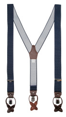 Profuomo BRACES LUXE 36MM PINDOT NAVY PP1L00003B/P