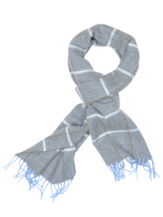 Profuomo SCARF BLUE SOLID PPOS30030A/M
