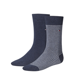 Tommy Hilfiger TH MEN SMALL STRIPE SOCK 2P 342029001/356